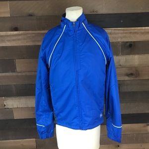 Novara convertible blue windbreaker jacket men's s